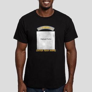 Team [photo] Men's Fitted T-Shirt (dark)